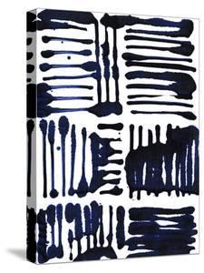 Indigo Stripes II by Jodi Fuchs
