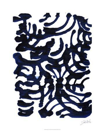 Indigo Swirls I by Jodi Fuchs