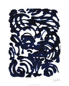 Indigo Swirls II by Jodi Fuchs