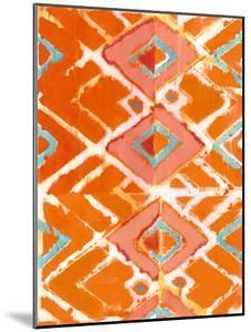 Orange Tribal I by Jodi Fuchs