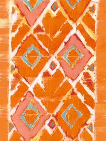 Orange Tribal II by Jodi Fuchs