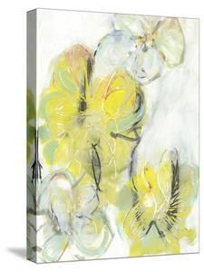Yellow Floral Abstract II by Jodi Fuchs