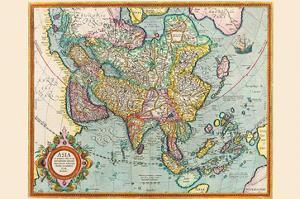 Asia by Jodocus Hondius