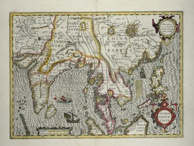 Indian Subcontinent to Philippines by Indonesian Archipelago and the Malay Peninsula, c.1600