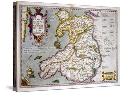 Map of Wales, Published c.1630