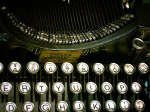 Antique Typewriter by Jody Miller