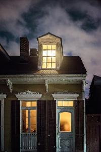 Night Scene with House by Jody Miller