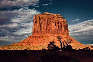 Red Rock in Monument Valley USA by Jody Miller