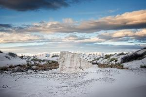 Remote Desert Landscape in USA by Jody Miller