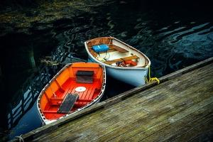 Small Rowing Boats by Jody Miller