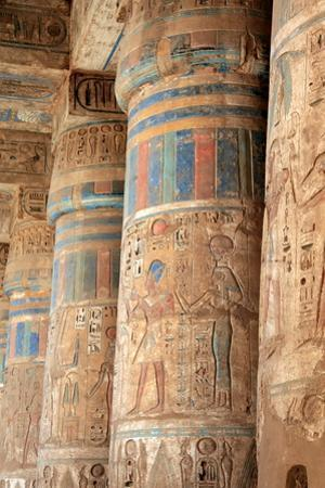 The Colours of Medinet Habu. by Joe & Clair Carnegie / Libyan Soup