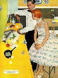 "Shock Treatment  - Saturday Evening Post ""Leading Ladies"", April 12, 1958 pg.26-Joe de Mers-Giclee Print"