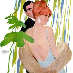 "Money on Her Mind version 2 - Saturday Evening Post ""Leading Ladies"", November 26, 1960 pg.23 by Joe de Mers"