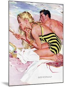 "No Man Is Worth It  - Saturday Evening Post ""Leading Ladies"", February 7, 1953 pg.20 by Joe de Mers"