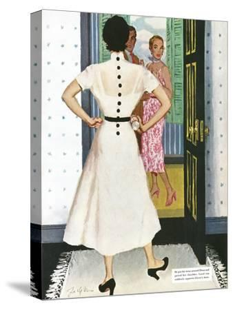 "I Want A Divorce! - Saturday Evening Post ""Leading Ladies"", September 9, 1950 pg.24"