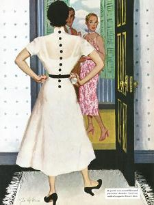 "I Want A Divorce! - Saturday Evening Post ""Leading Ladies"", September 9, 1950 pg.24 by Joe deMers"