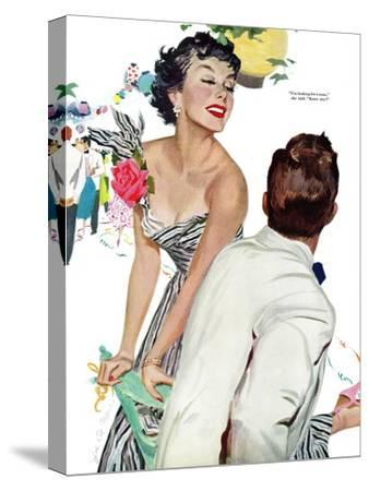 "I Want A Man  - Saturday Evening Post ""Leading Ladies"", April 15, 1950 pg.40"