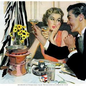"Marriage is for Suckers  - Saturday Evening Post ""Leading Ladies"", March 7, 1953 pg.21 by Joe deMers"