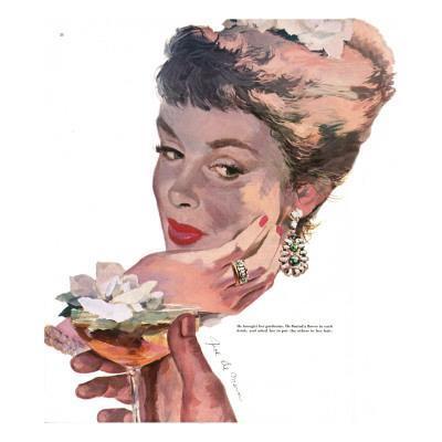 "The Indiscreet Widow - Saturday Evening Post ""Leading Ladies"", June 10, 1950 pg.38"