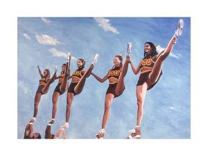 Florida State Cheerleaders, 2002 by Joe Heaps Nelson