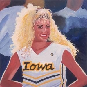 Iowa Cheerleader, 2001 by Joe Heaps Nelson