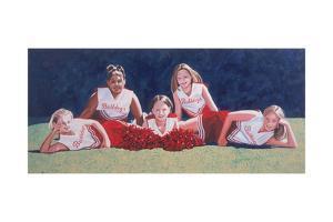 Junior High School Cheerleaders on the Grass, 2003 by Joe Heaps Nelson