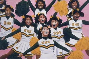 Kiamuki High School Cheerleaders, 2002 by Joe Heaps Nelson