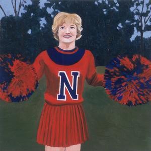 'N' Cheerleader, 2000 by Joe Heaps Nelson