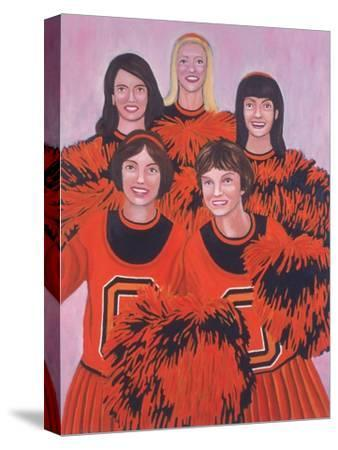 Oregon State Cheerleaders, 2002