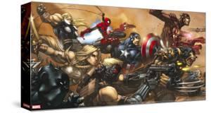Ultimates No.3 Cover: Captain America by Joe Madureira
