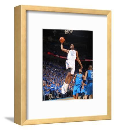 Dallas Mavericks v Oklahoma City Thunder - Game Four, Oklahoma City, OK - MAY 23: Kevin Durant and