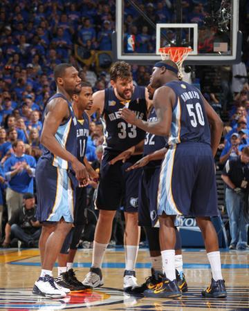 Memphis Grizzlies v Oklahoma City Thunder - Game Seven, Oklahoma City, OK - MAY 15: Marc Gasol, Ton