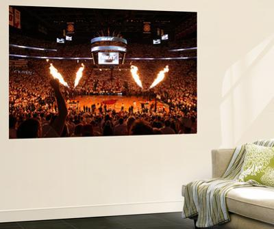 Miami, FL - June 17: General view of the arena before Game Three of the 2012 NBA Finals