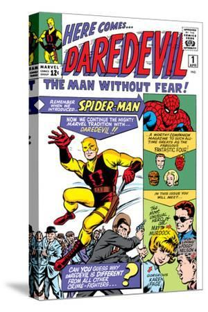 Daredevil No.1 Cover: Daredevil