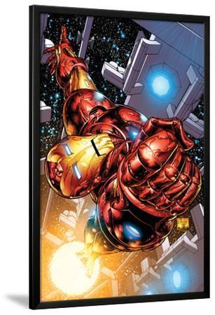 The Invincible Iron Man No.1 Cover: Iron Man