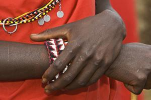 A day in a Maasai Village as guests to view thier way of living. by Joe Restuccia III
