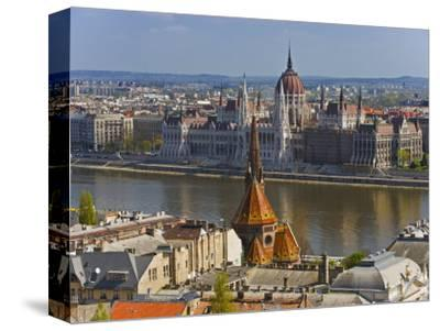 A View of Budapest from Castle Hill, Hungary