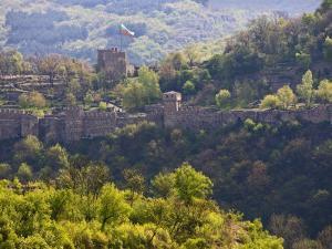 A View of the Tsarevets, Veliko Turnovo, Bulgaria by Joe Restuccia III