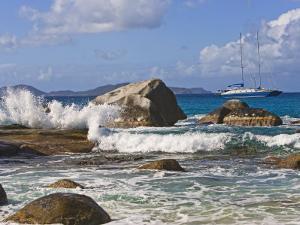 Beach Side at Virgin Gorda, British Virgin Islands, Caribbean by Joe Restuccia III