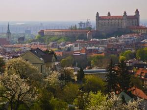 Bratislava Castle, Bratislava, Slovakia by Joe Restuccia III