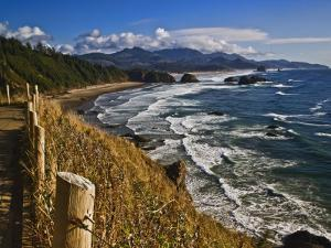 Coastline North of Cannon Beach, Ecola State Park, Oregon, USA by Joe Restuccia III
