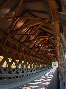 Covered Bridge, Woodstock, Vermont, USA by Joe Restuccia III