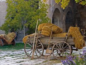 Hay Wagon with Ancient Tools, Caravanserai, Turkey by Joe Restuccia III