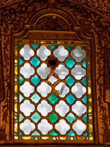Stained Glass Window in Merlana Museum, Konya City, Turkey by Joe Restuccia III