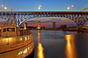 The Cuyahoga River in Cleveland, Ohio, USA by Joe Restuccia III