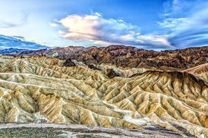 USA, California. Death Valley National Park, Zabriskie Point by Joe Restuccia III