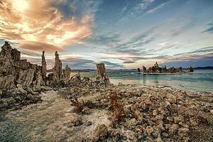 USA, California, Mono Lake. Tufa Formations. by Joe Restuccia III