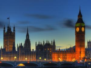 Westminster Aglow by Joe Reynolds