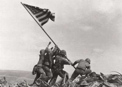 Flag Raising on Iwo Jima, c.1945