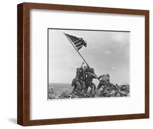 Iwo Jima Flag Raising by Joe Rosenthal